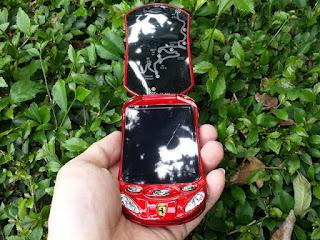 Hape Unik Mobil Flip Android Newmind F16 New Antique Phone Dual Sim
