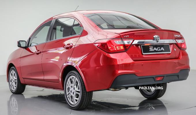 Gambar Proton Saga 2016
