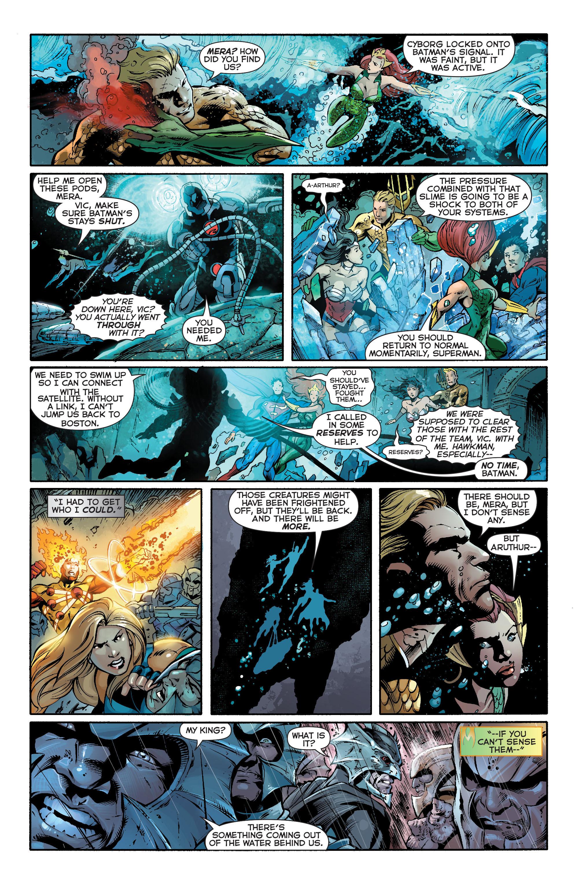 Read online Aquaman (2011) comic -  Issue #16 - 17