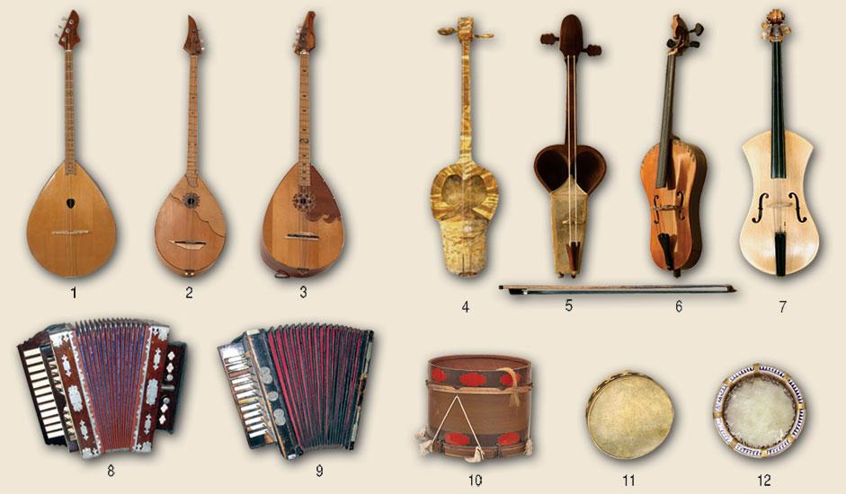 Все башкирские народные инструменты в картинках
