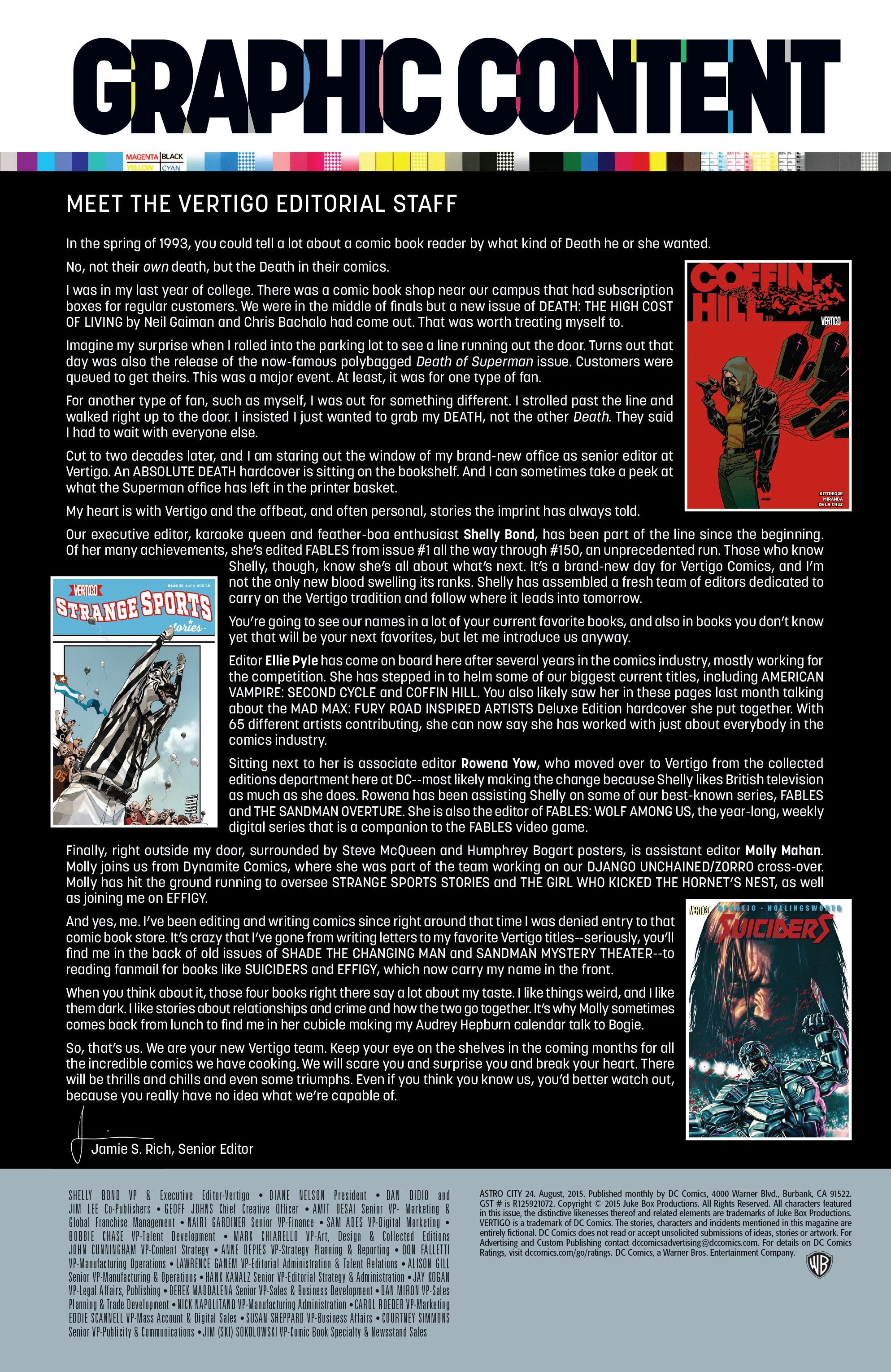 Read online Astro City comic -  Issue #24 - 28