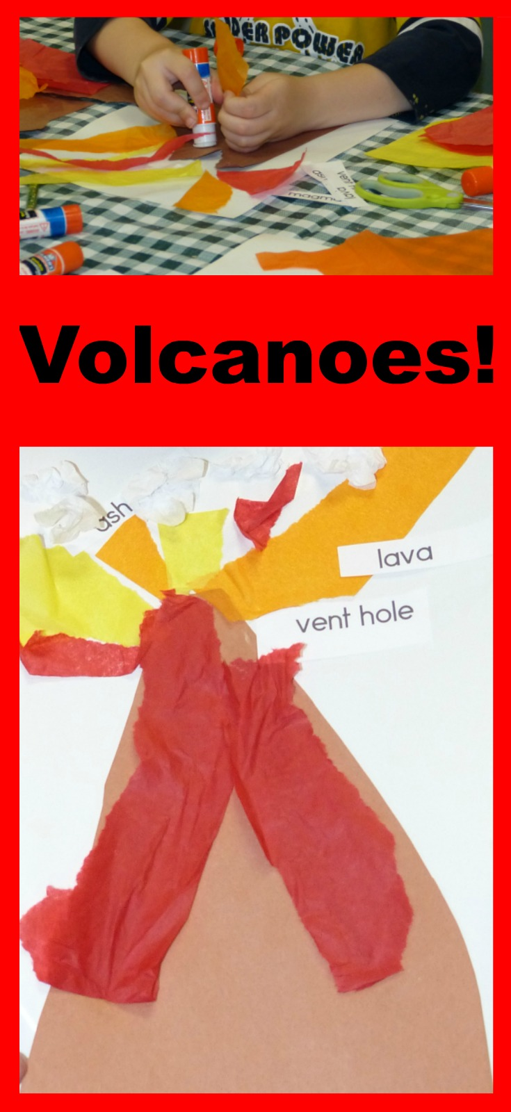 volcanoes for preschoolers paula s preschool and kindergarten erupting with 488