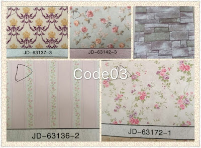 Wall Sticker / Adhesive Wallpaper