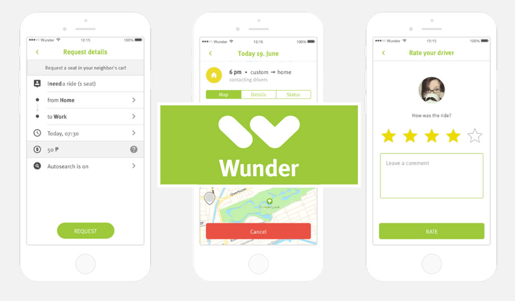 Wunder Carpool App hits over 1M rides, set to roll out in