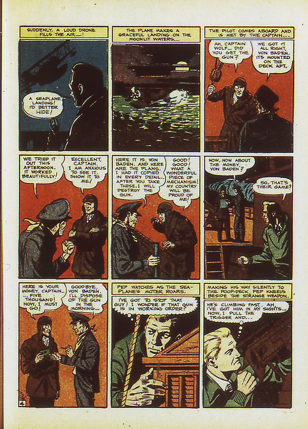 Read online Action Comics (1938) comic -  Issue #34 - 22