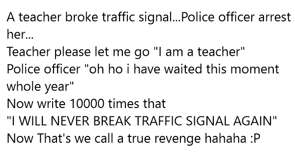 funny traffic police jokes