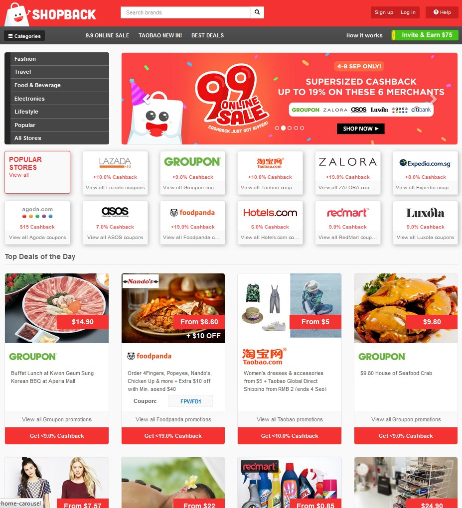 0e6b13d0941 Get Rakuten Cashback And Coupon Code With ShopBack