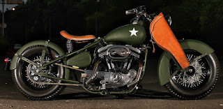 the soldier sportster military by studiomotor side right