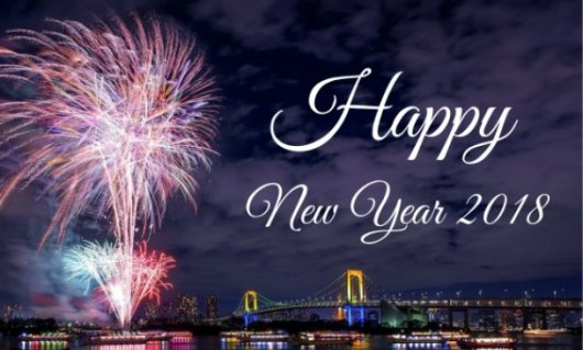 Selamat, Tahun Baru 2018