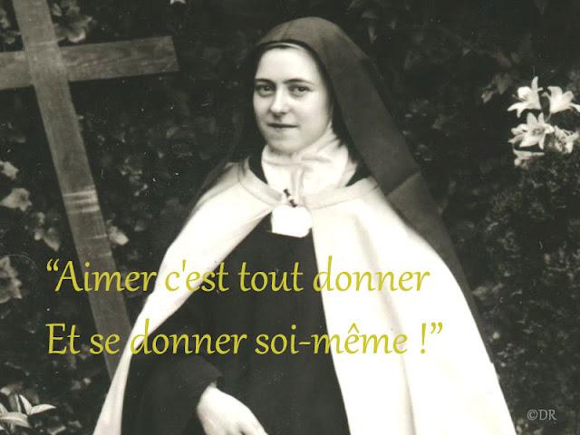 """""""AIMER C'EST TOUT DONNER"""" D'APRÈS LES PAROLES DE SAINTE THÉRÈSE DE LISIEUX"""