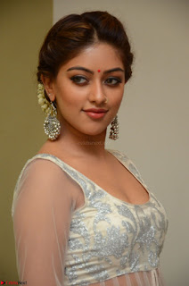Anu Emmanuel in a Transparent White Choli Cream Ghagra Stunning Pics 113.JPG