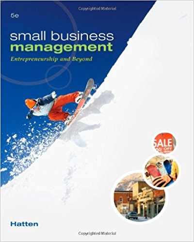 Small Business Management: Entrepreneurship and Beyond 5th Edition
