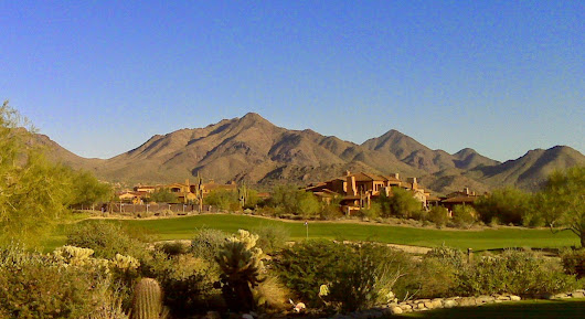 Beauty of Mountains at Scottsdale Golf Club