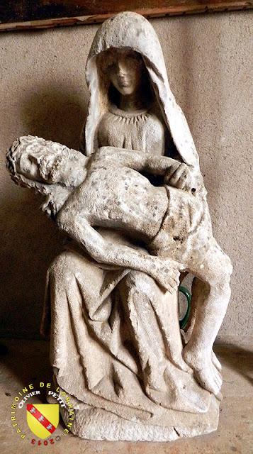 CRANTENOY (54) - Eglise Saint-Menne -Pietà