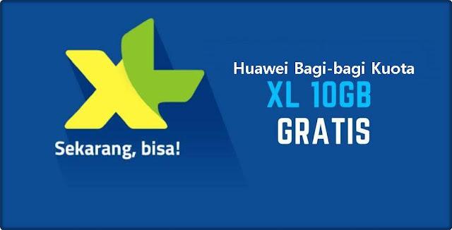 Kuota XL Gratis Huawei