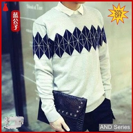 AND360 Sweater Pria Diamond Grey Tribal BMGShop
