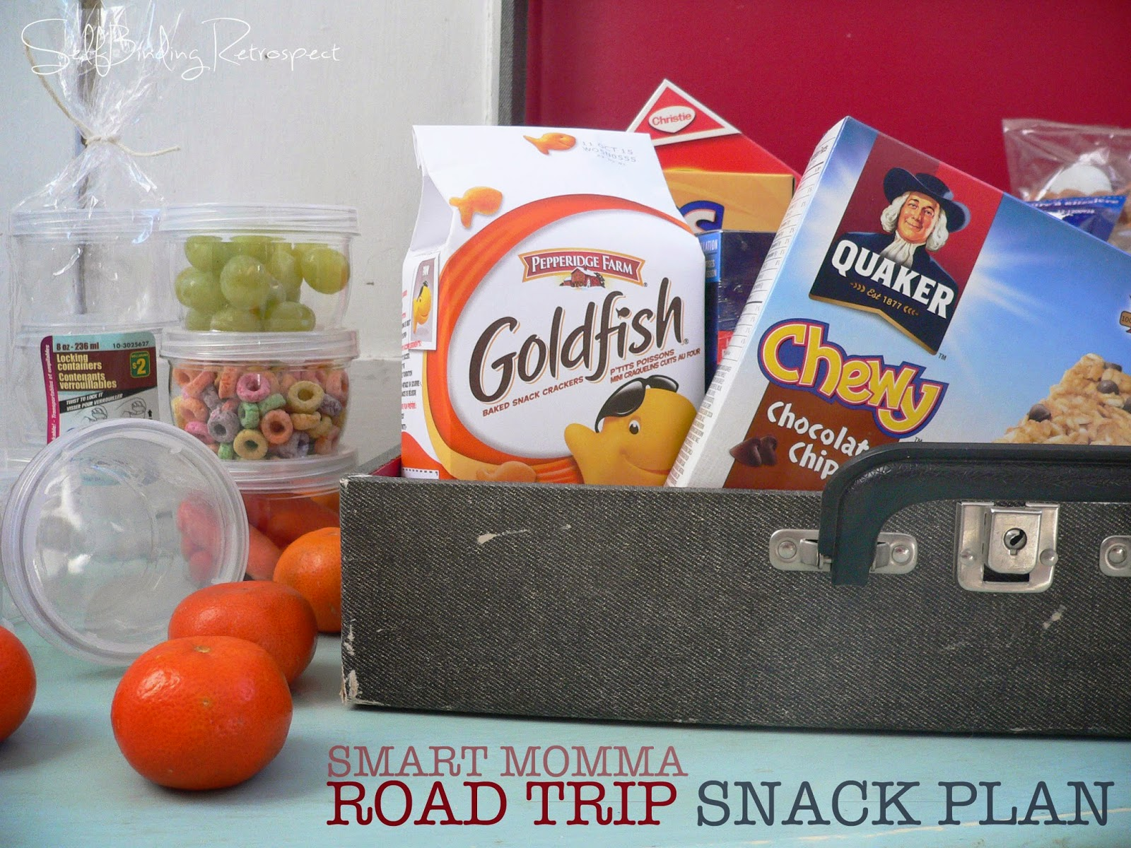 Smart momma snack plan for the road