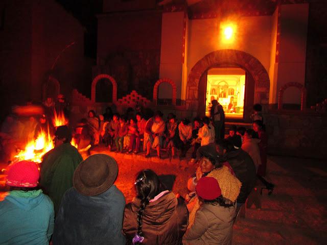 Fest Johannes der Täufer in Esmoraca Bolivien.