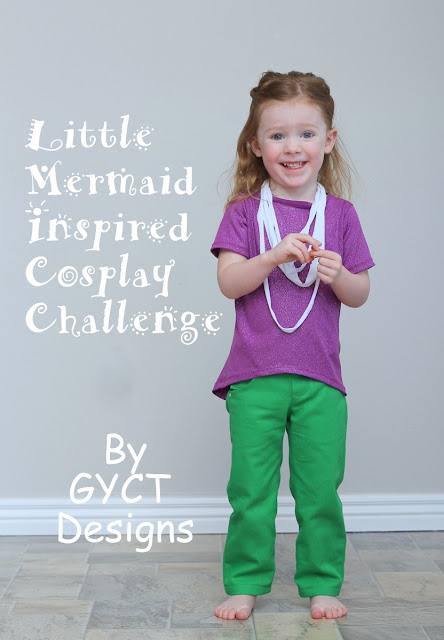 PRP:  Little Mermaid Inspired Cosplay Challenge