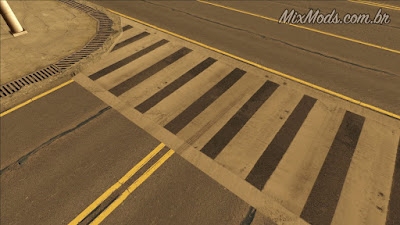 gta sa san mod real hq roads ruas em hd mipmap
