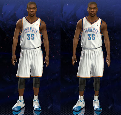 NBA 2K14 Long Knee Sleeves Mod