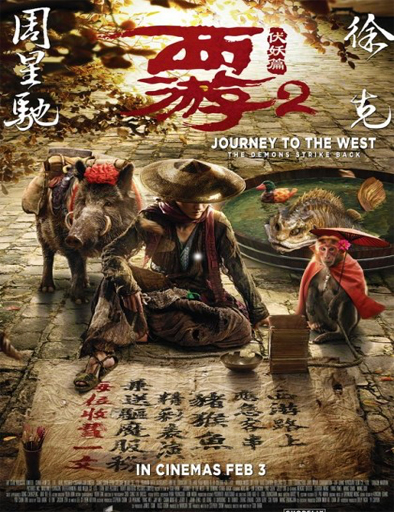 Ver Journey to the West: Demon Chapter (2017) Online