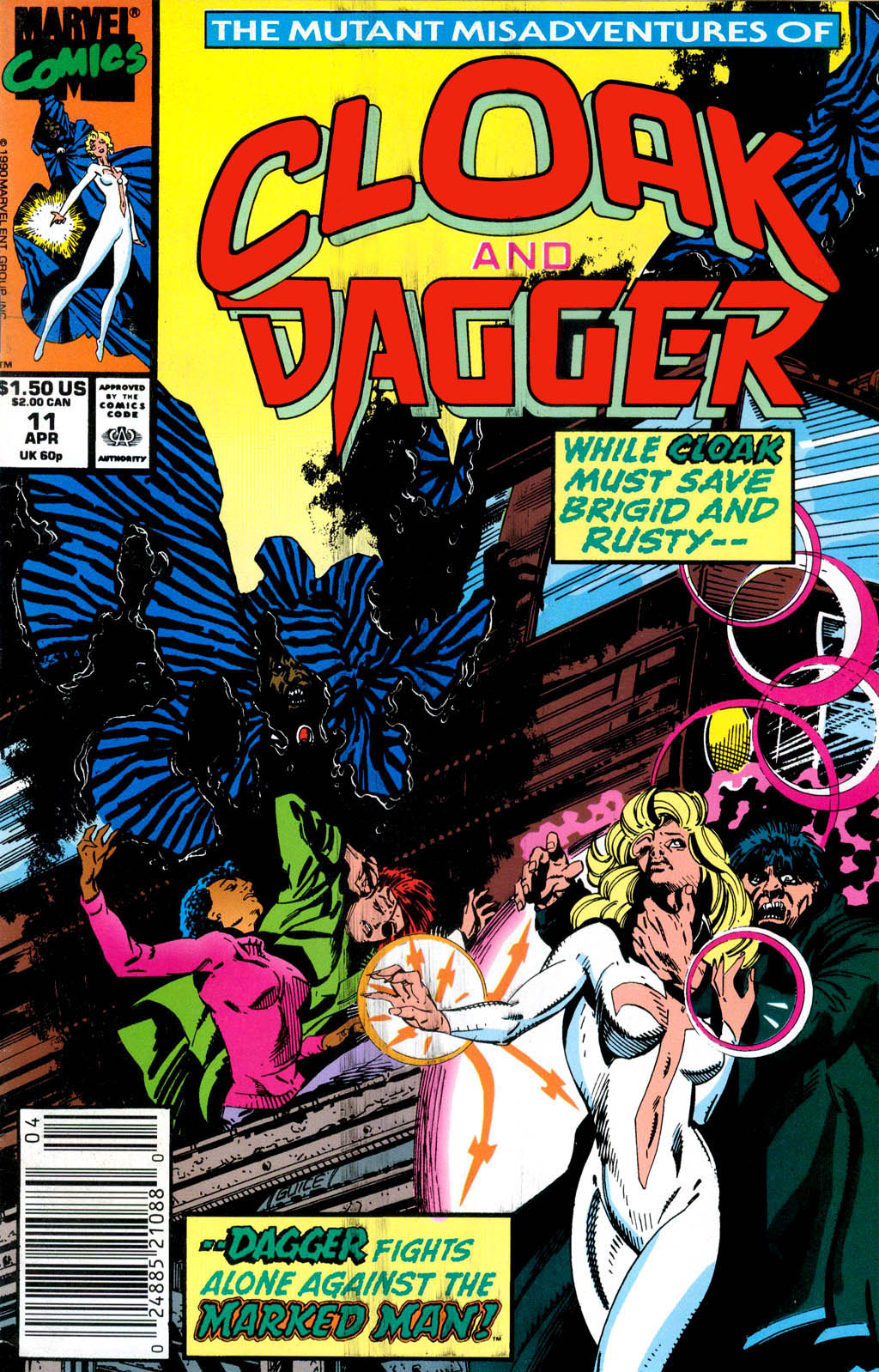 Cloak and Dagger (1990) 11 Page 1