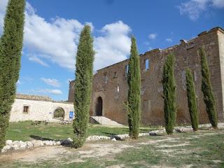 Vista exterior del Monasterio de Monsalud