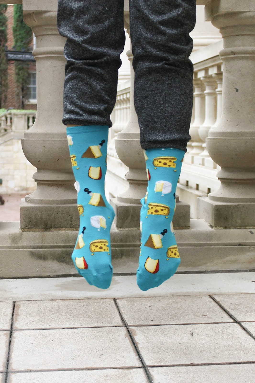 The Hot Sox Co cheese socks