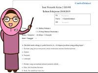Soal Tematik Kelas 2 Tema 1 Subtema 3 Semester 1