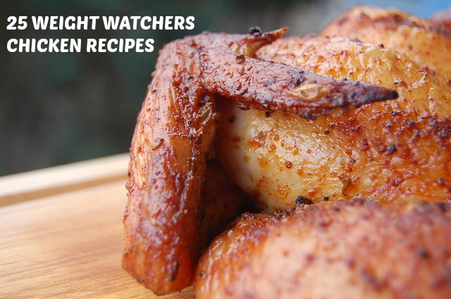 Weight Watchers Chicken Recipes #weightwatchers
