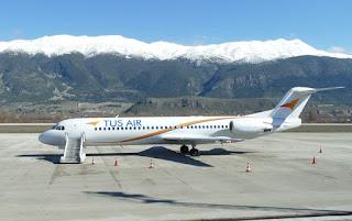 😭 Τέλος οι πτήσεις της Κυπριακής Τus Air προς και από Γιάννινα