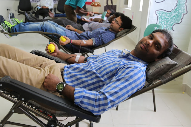 Sathguru Management Consultants hosts 11th annual Blood Donation Drive
