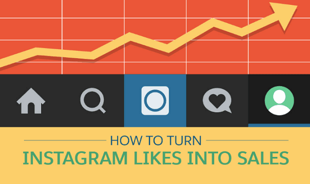how to turn likes into sales