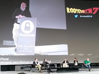 RootedCon 2016 - RootedPanel 2: Emprendimiento en España
