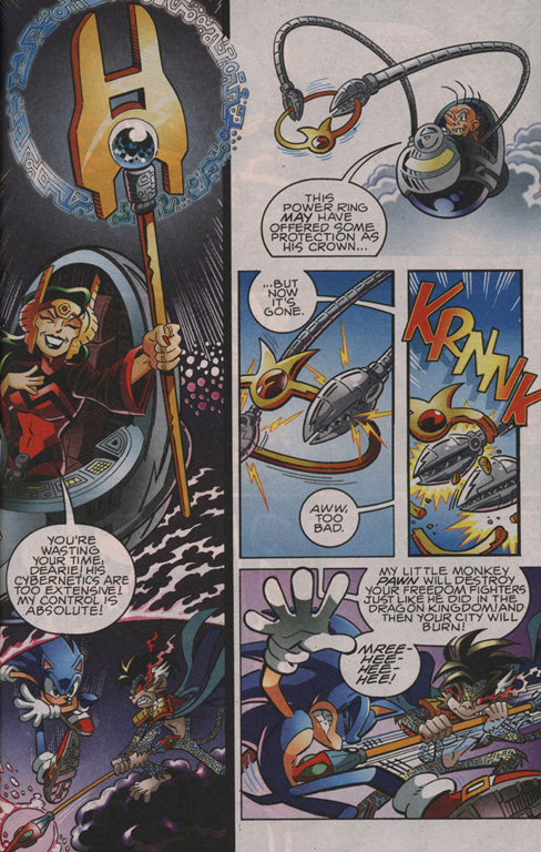 Read online Sonic The Hedgehog comic -  Issue #204 - 6