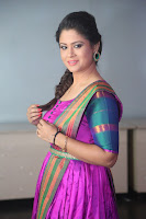 Shilpa Chakravarthy in Purple tight Ethnic Dress ~  Exclusive Celebrities Galleries 068.JPG