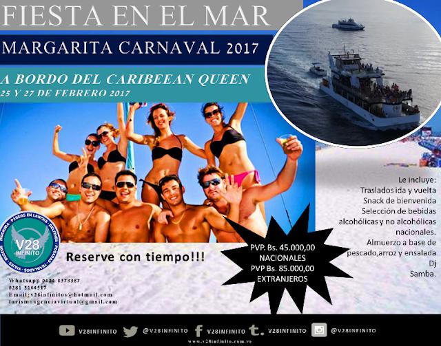 imagen Fiesta en el Mar carnaval 2017 Margarita