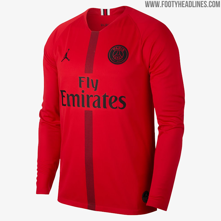 1cfb5a8ed73672 Jordan PSG 18-19 Champions League Kits Released - Footy Headlines