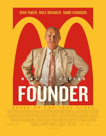 The Founder 2016 Hindi Dual Audio BRRip Full Movie Download
