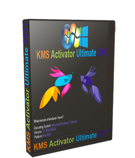 Windows KMS Activator Ultimate 2018 4.1 poster box cover