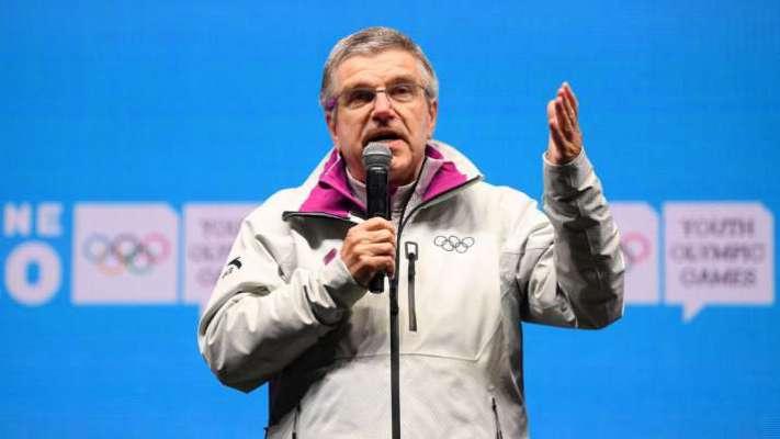 nternational Olympic Committee (IOC) president Thomas Bach