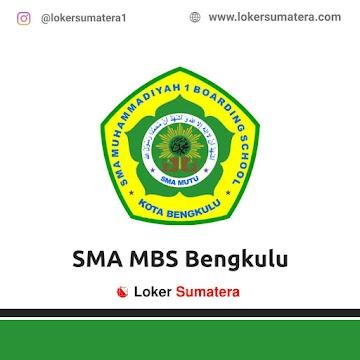 Lowongan Kerja Bengkulu: SMA MBS Bengkulu Juni 2021