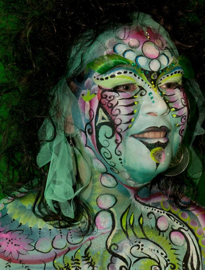Австралийский бодиарт карнавал 18