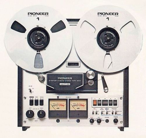 Professional 2-track tape deck (1974)