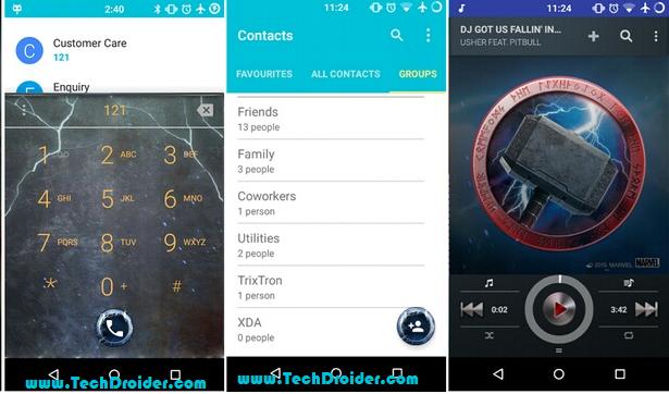 Thor theme for Cyanogenmod 12 ( Cm12 )