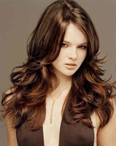 long hair style with bangs long hair style with layers long hair style ...