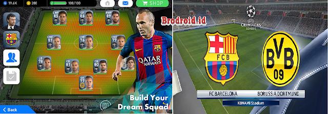 Download Pro Evolution Soccer 2017 1.1.0 Mod Apk Terbaru Android