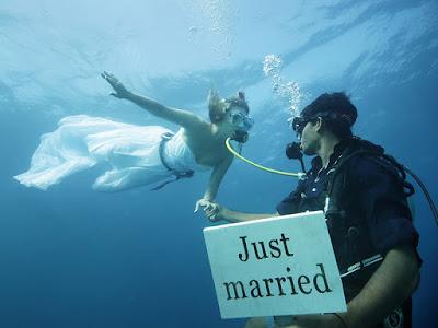 casamento submerso