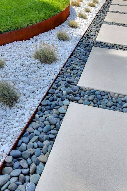 How To Lay Stepping Stones In Gravel